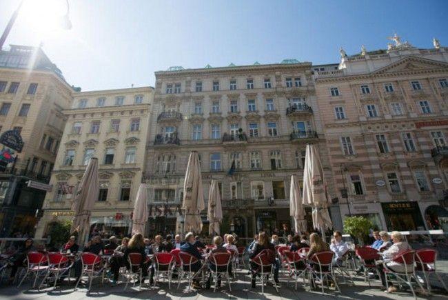 Wiens Schanigärten erfreuen sich großer Beliebtheit.