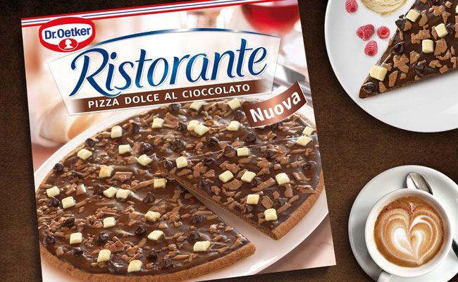 Die Schokoladepizza soll es in Kürze auch bei uns geben