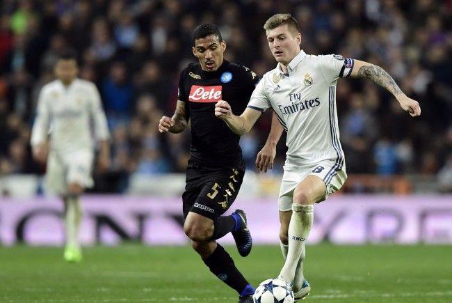 Neapel und Real Madrid treffen Dienstagabend im Stadio San Paolo aufeinander.
