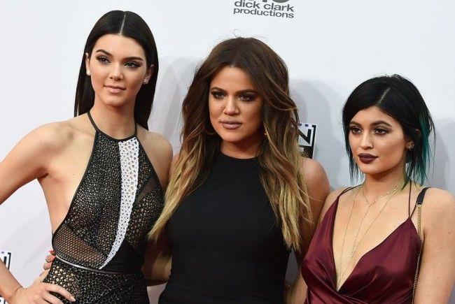 Khloe Kardashian (Mi.) wurde besonders gehänselt.