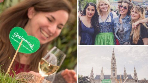 Steiermark-Frühling 2017: Grünes Spektakel lädt zum Rathausplatz
