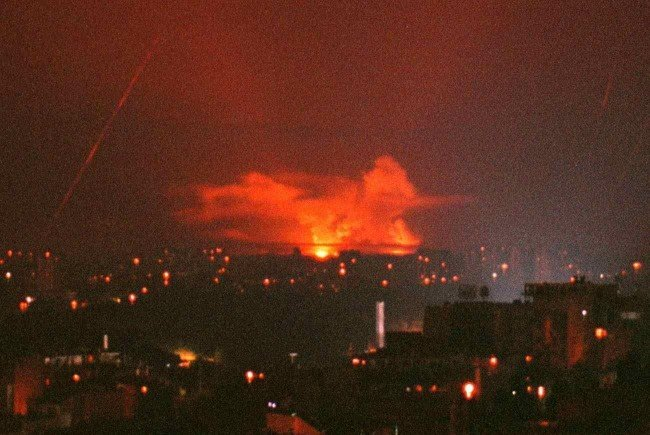 Die NATO bombardierte Serbien im Jahr 1999.