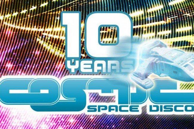 COSMIC Space Disco feiert 10. Geburtstag