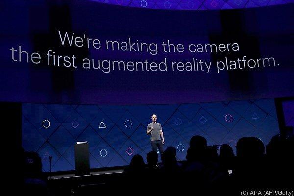 Zuckerberg präsentierte die Visionen seines Unternehmens