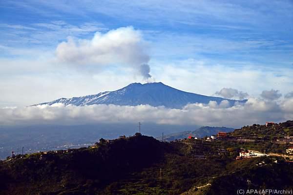 Wieder spie der größte Vulkan Europas Asche