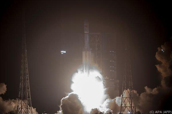 """""""Langer Marsch 7"""" heißt die Rakete und ihr Name ist Programm"""