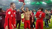 Frankfurt nach Elferkrimi im DFB-Pokal-Finale