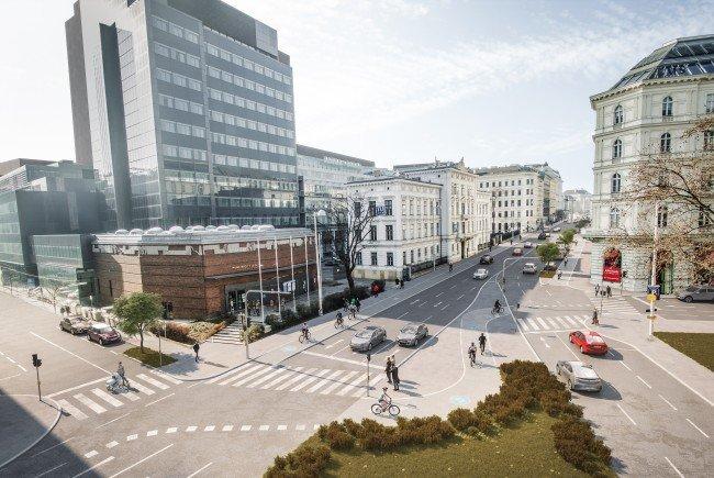 Die Neugestaltung des Wiener Getreidemarktes startet am 3. Mai 2017.