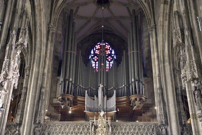 Die Orgel im Stephansdom wird renoviert