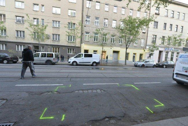Der Tatort im 20. Bezirk in Wien.