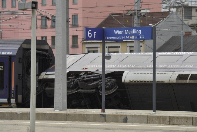 Das Zugsunglück in Wien-Meidling hat Auswirkungen auf den Nahverkehr.
