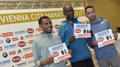 Eliud Kiptanui und Deribe Robi mit Favoritenrolle im Marathon
