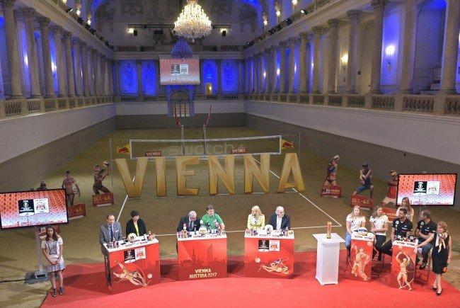 Die Beach-Volleyball-WM 2017 findet im Sommer auf der Donauinsel in Wien statt.