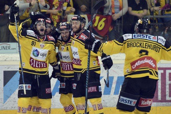 Die Vienna Capitals konnten den dritten Sieg in der Finalserie einfahren.