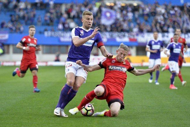 Austria Wien und Admira Wacker kämpfen im ÖFB-Cup um den Aufstieg.