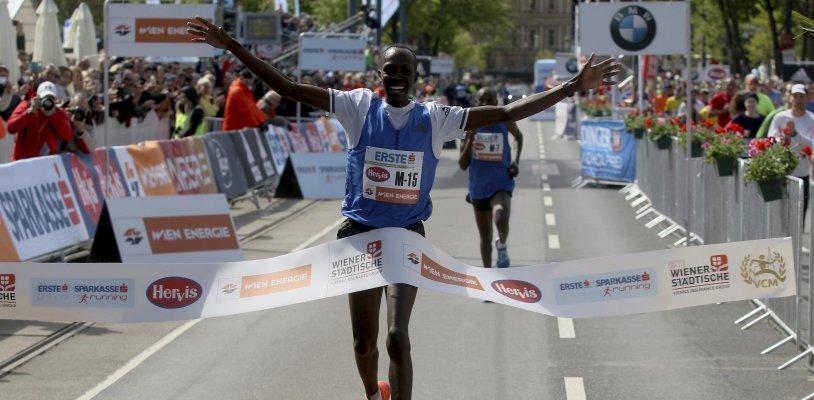 Albert Korir gewinnt den Wien-Marathon