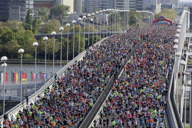 Die Vienna City Marathon war eine Veranstaltung der Rekorde.