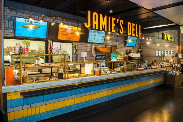 Jamie's Deli am VIE.