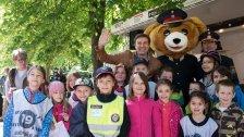 Großes Kinderpolizei- Event im Wiener Prater