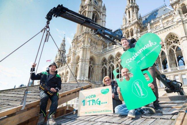 Das grüne Herz Österreichs schlägt am Wochenende in Wien