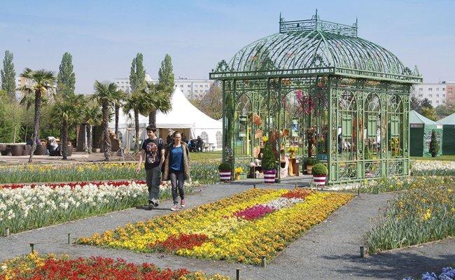 Die Blumengärten Hirschstetten laden wieder zu den Gartentagen.
