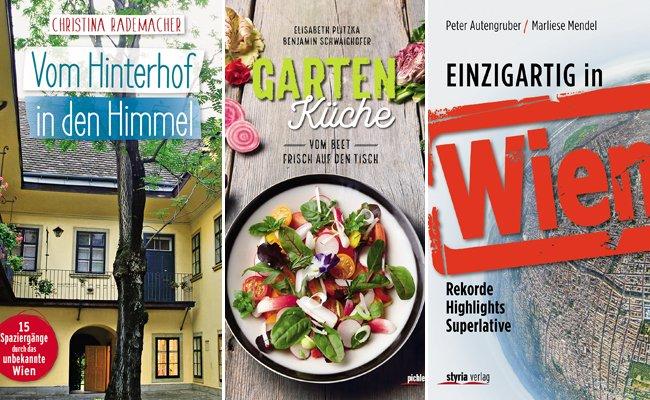 Heute im VIENNA.at-Ostergewinnspiel: Buchpaket gewinnen.