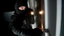 Polizisten erwischten Einbrecher in flagranti