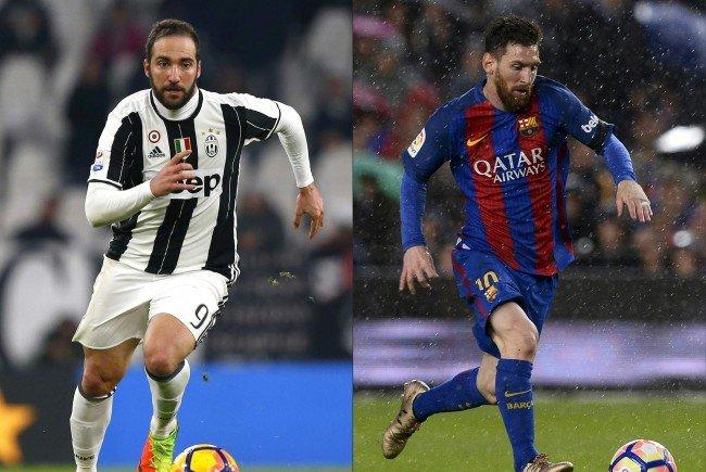 Juventus empfängt den FC Barcelona im Hinspiel des Viertelfinales der UEFA Champions League.