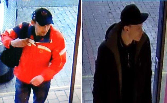 Die Polizei bittet um Hinweise zu den gesuchten Männern.