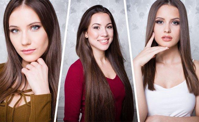 Drei der Miss Vienna 2017 Finalistinnen.