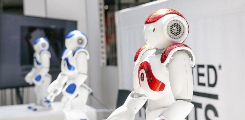 Roboter machen Halt im Donauzentrum