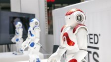 Roboter machenim DZ Halt