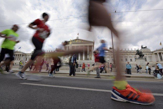 Beim Vienna City Marathon 2017 werden mehr Polizisten im Einsatz sein.