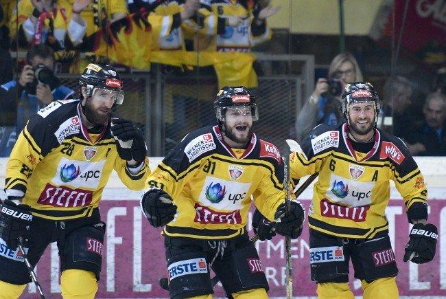 Die Vienna Capitals könnten mit einem Sieg im 4. Spiel der Finalserie Geschichte schreiben.