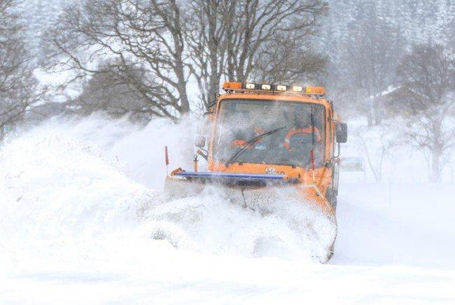 In einigen Teilen Österreichs blieb ordentlich Schnee liegen.