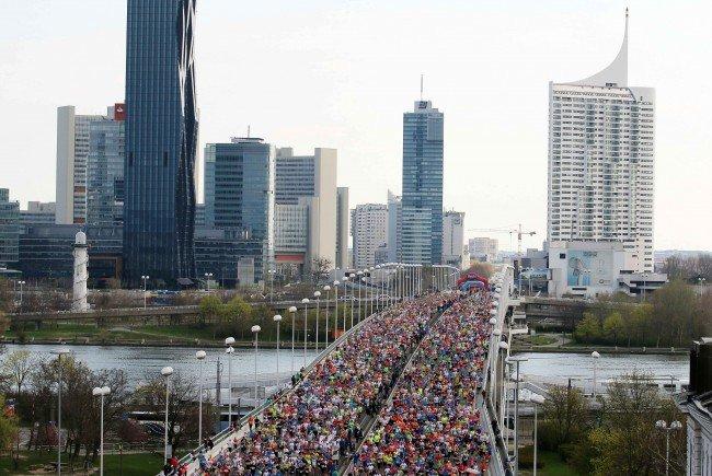 So wird das Wetter am Tag des Wien-Marathons 2017.