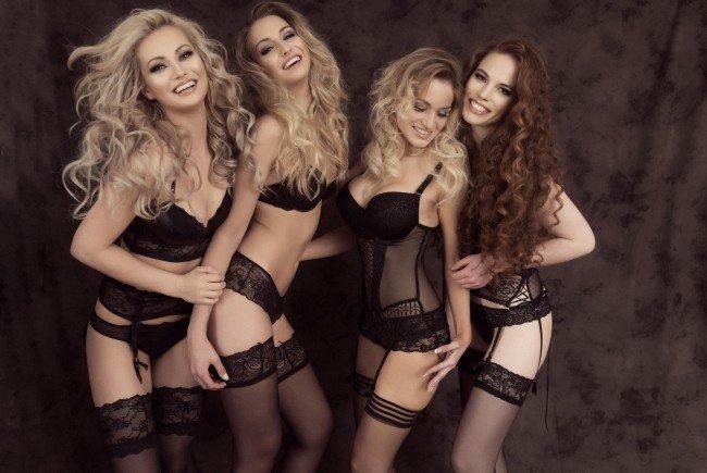 Die Fotos des Miss Austria-Dessous-Shootings können sich sehen lassen.