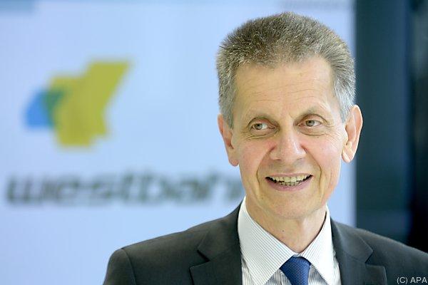 Westbahn-Chef Erich Forster ist zufrieden