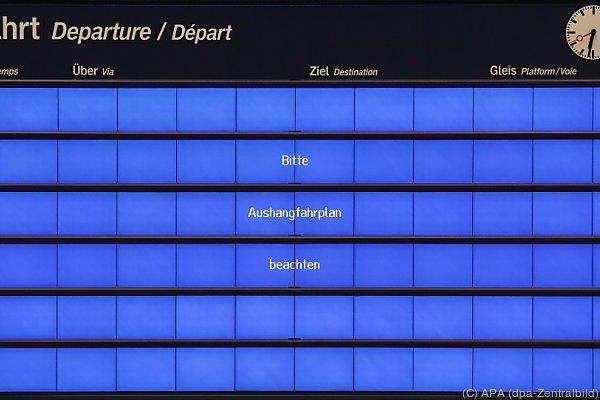 Auch die Deutsche Bahn war von dem Angriff betroffen