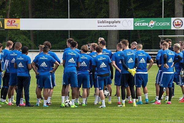 Liga-Urgestein HSV absolvierte ein Mini-Trainingslager