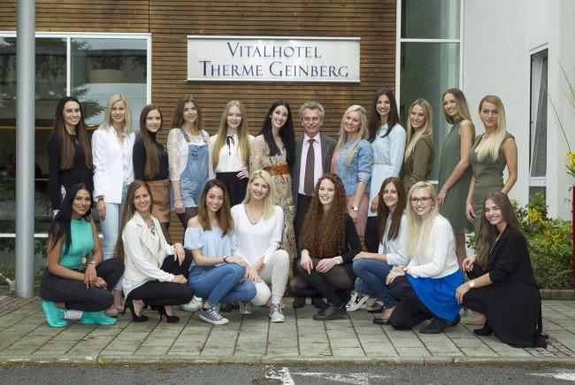 Österreichs Missen sind in der Miss Austria Akademie angekommen.