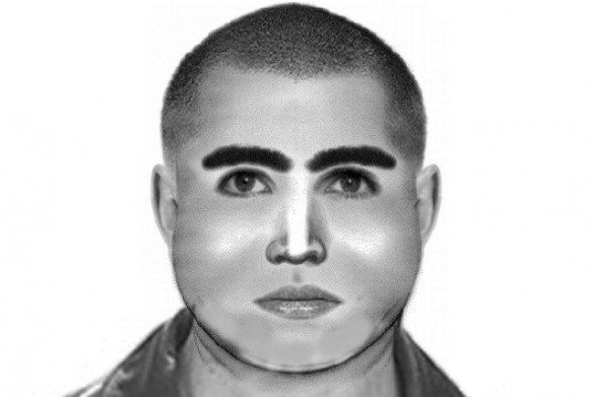 Die Polizei sucht per Phantombild nach einem Mann, der versuchte eine Frau zu vergewaltigen.