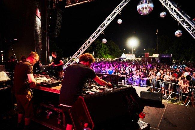 EUTOPIA DJ/VJ Bühne feiert heuer 10-jährigen DIF-Jubiläum.