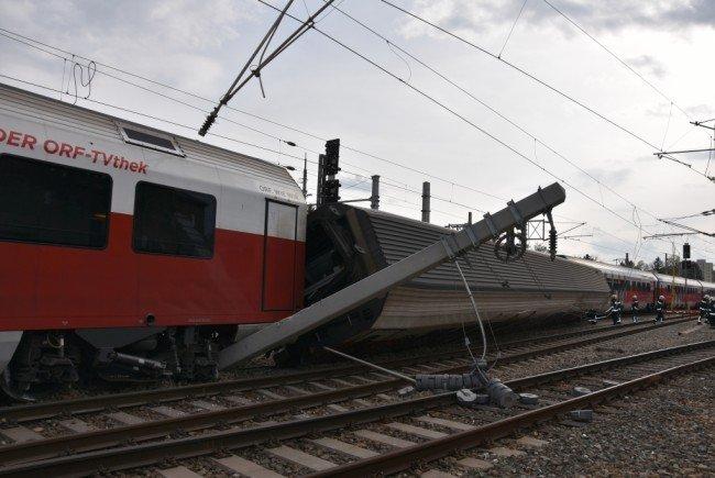 1,5 Monate dauerte es, die Beschädigungen am Bahnhof Wien-Meidling auszubessern.