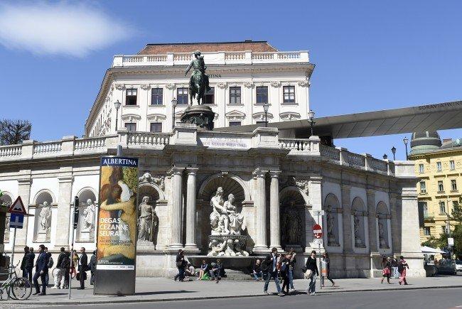 Zwischen Albertina, Nationalbibliothek und Jüdischem Museum soll das Kunstviertel entstehen