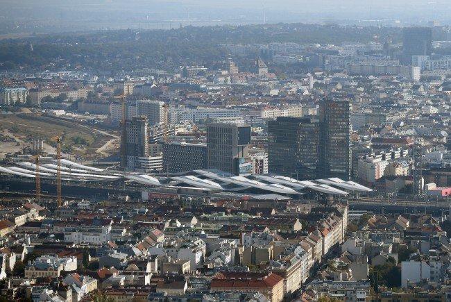 Der Auslöser für den Betonteil-Absturz im Wiener Hauptbahnhof wurde gefunden.