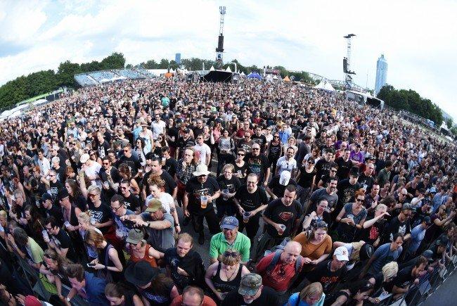 """Für die Besucher des """"Rock in Vienna""""-Festivals soll """"keine konkrete Bedrohung"""" bestehen."""