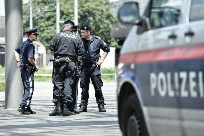 Fünf Polizisten wurden bei Amtshandlungen in Wien verletzt.