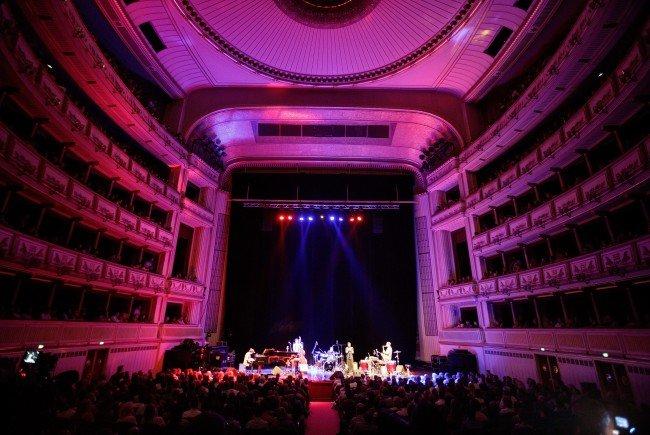 Die Staatsoper ist eine der Locations beim Jazz Fest Wien.