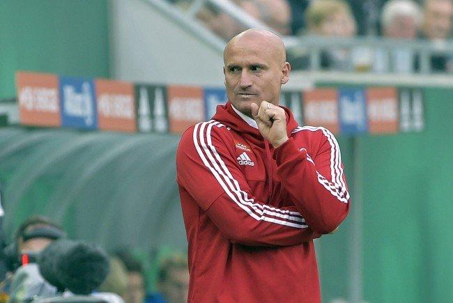 Rapid-Trainer Goran Djuricin will nichts vom Abstiegskampf wissen.